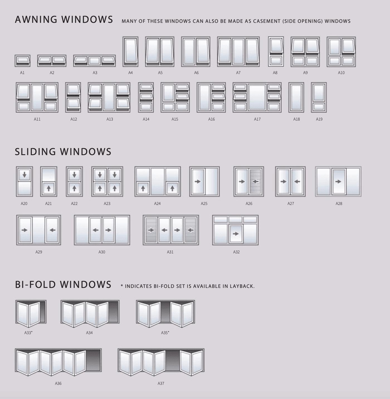 Window Configurations